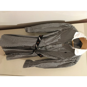 Vestido Nena Polo Ralph Lauren Rayas Negro