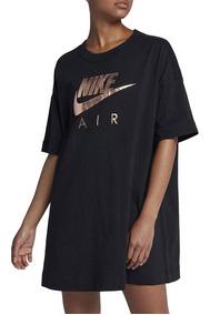 gran selección de 19957 e03b4 Vestido Nike Air Negro Mujer