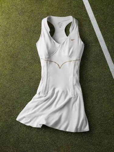 vestido nike maria sharapova wimbledon tenis talla m