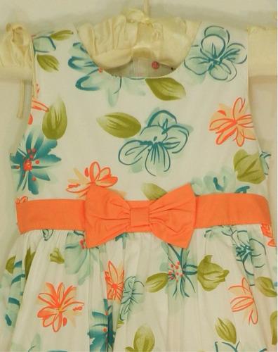 vestido niña 4 a 5. hermoso envio gratis