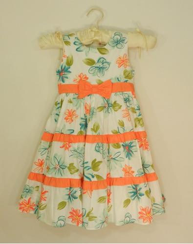vestido niña 4 a 5 y 7 a 8 años. hermoso envio gratis