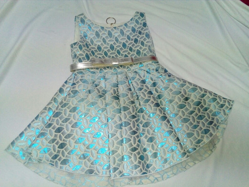 vestido niña azul zoe ltd. la segunda bazar