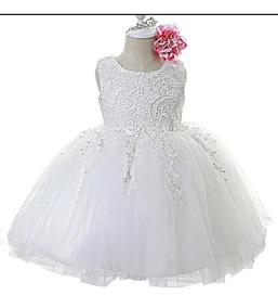0e0b8a5ae Vestido De Bautizo Para Nina Brillantes en Mercado Libre Colombia