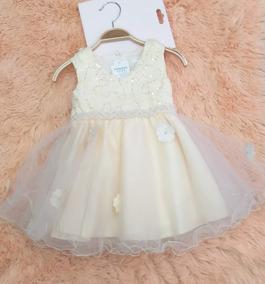 Vestido Niña Bebe Fiesta Bautizo Damas De Honor