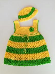 Niña Crochet Bebe Tejido A Vestido Bf6iyv7gmy