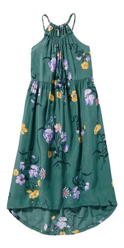 vestido niña casual tirantes cuello redondo 392210 old navy