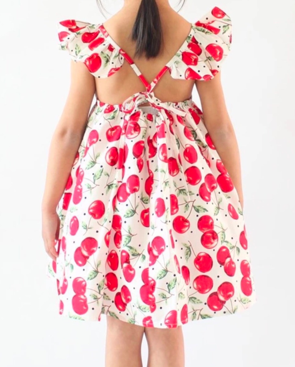 Excelente Vestidos De Dama De Cereza Imágenes - Colección de ...