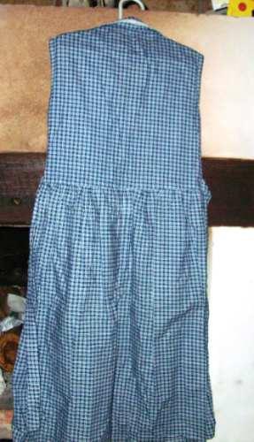 vestido niña cuadrille, muy fresco y comodo verano talle 8