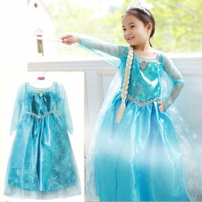 Vestido Niña De Frozen Importado Y Nuevo