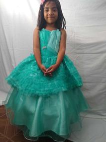 Vestido Niña Desmontable Graduación Kinder Presentación