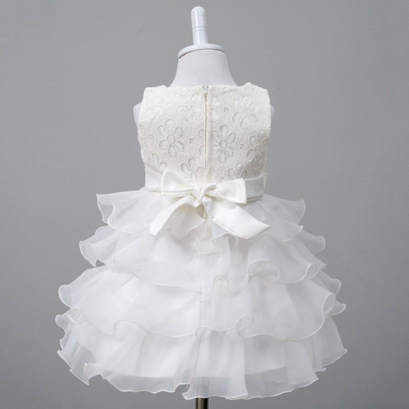 Vestido Niña Bebe Fiesta Boleros Blanco Fucsia - $ 50.000 en Mercado ...