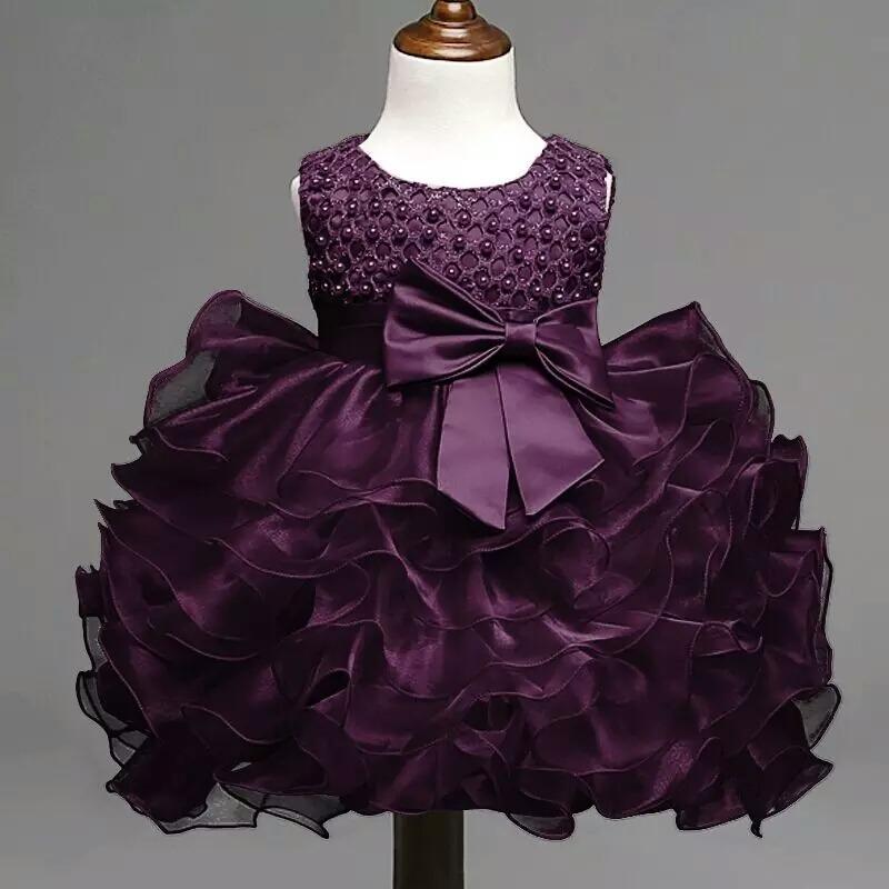 Vestido Niña Princesa Fiesta Bautizo Cumpleaños - $ 74.800 en ...