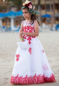 Vestido Niña Fiesta Paje Boda Primera Comunión Princesa Usa