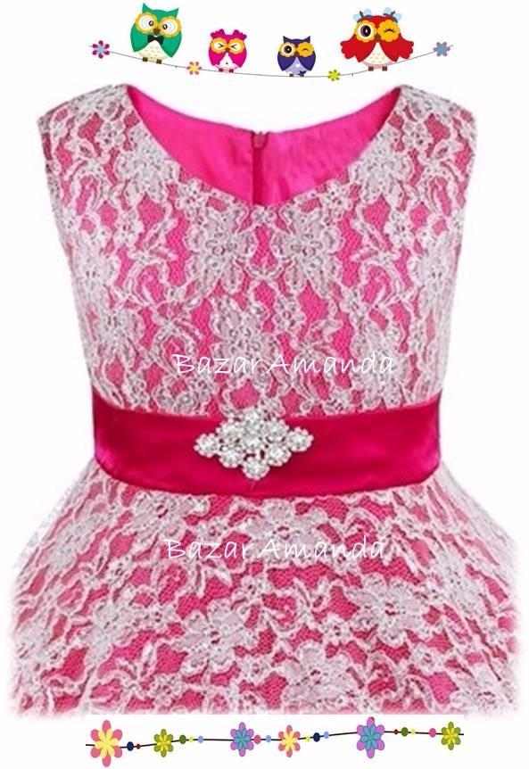 Vestido Niña Fiesta Talla 16 - Bazar Amanda - $ 34.990 en Mercado Libre