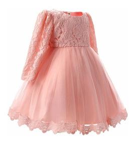 Vestido Nina Fiestapaje Cumpleaos Talla 1 A 8 Años
