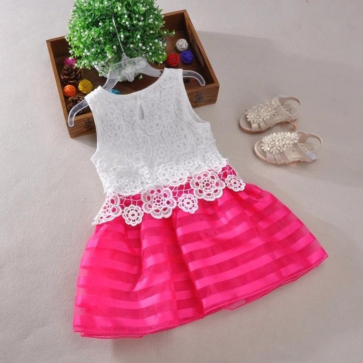 Vestido Niña Infantil 5-6 Años Para Fiesta - $ 520.00 en Mercado Libre