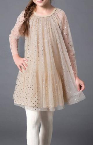 vestido niña manga larga tallas 6 7 8 envio gratis