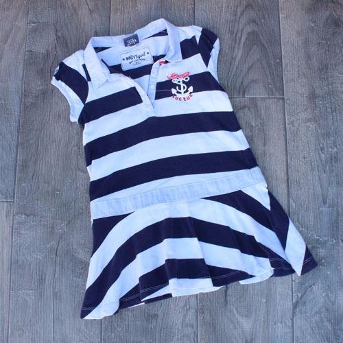 vestido  niña marinero rayas tuc tuc envio gratis