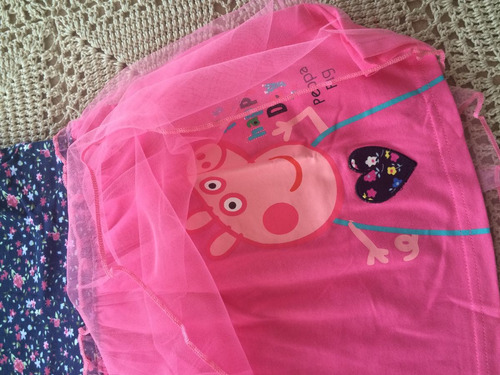 vestido niña peppa pig