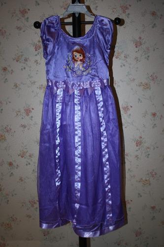 vestido niña pricesa sophia disney store 5/6 años