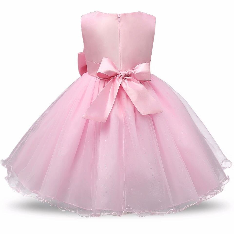 Vestido Niña Bautizo Primera Comunión Dama De Honor - $ 70.000 en ...