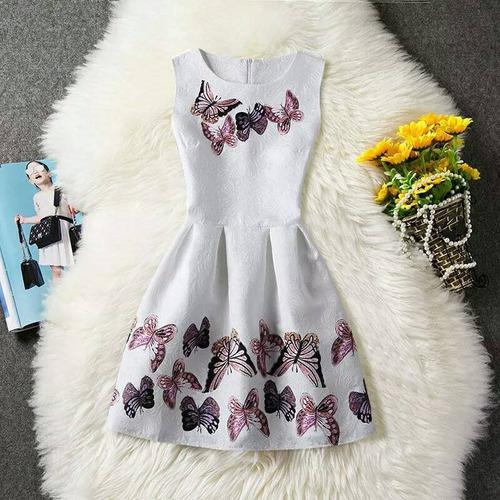 vestido niña talla 8 10 envio gratis