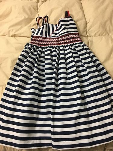 vestido niña talla 8 usado!!!!