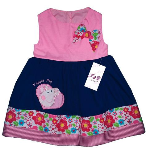 vestido niña vestir fiesta peppa pig, kitty, monkey, buhita