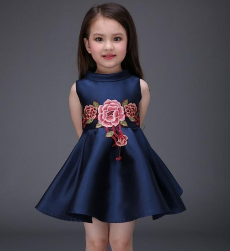 vestido niñas primavera flores talla 3 a la 7 moda ropa new