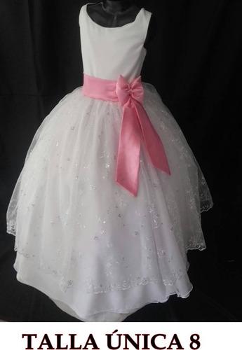 vestido niñas primera comunión
