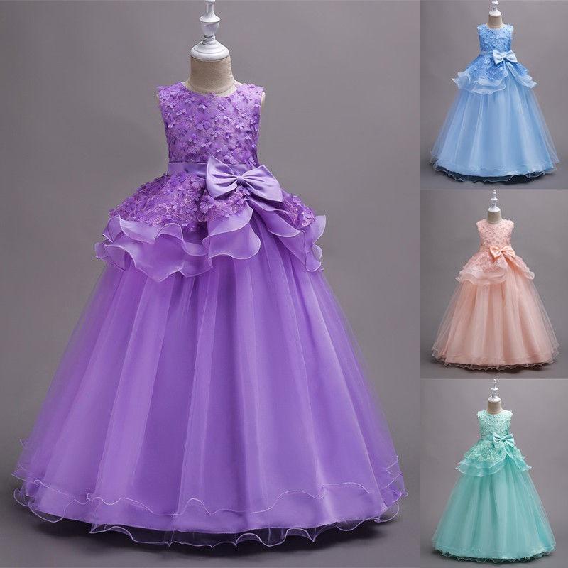 Hermosa Vestidos De Dama Niñas Imagen - Vestido de Novia Para Las ...