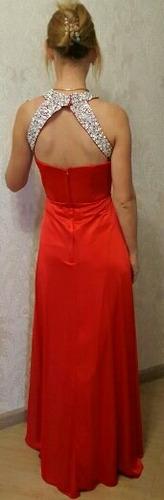 vestido noche boda gala fiesta graduación, envío gratis!