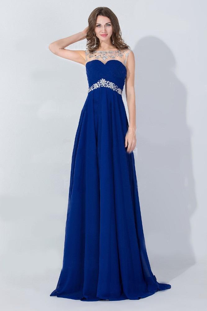 Vestido azul rey largo strapless u2013 Vestidos de moda blog de fotos del sitio