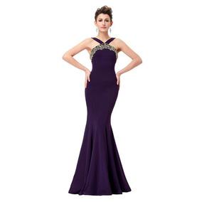 7854bc5c0 Vestido Corte Sirena - Largo de Mujer en Mercado Libre México