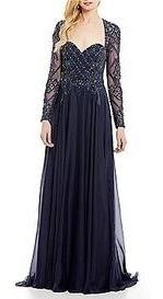 Vestido Noche Terani T8 Precio Orig 13500 Precio Rohi 5700