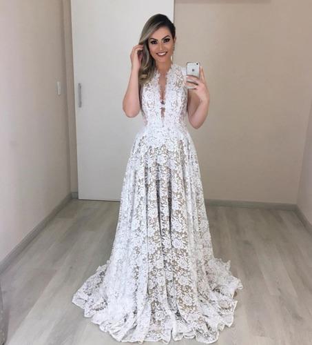 vestido noiva bicolor sob medidas