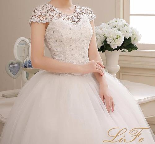 vestido noiva brilho casamento debutante frete gratis fli-16