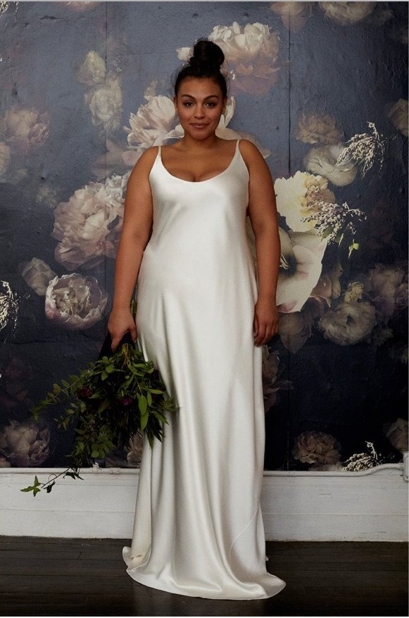 4bdb8331be vestido noiva cetim nobre simples elegante plus size festa. Carregando zoom.
