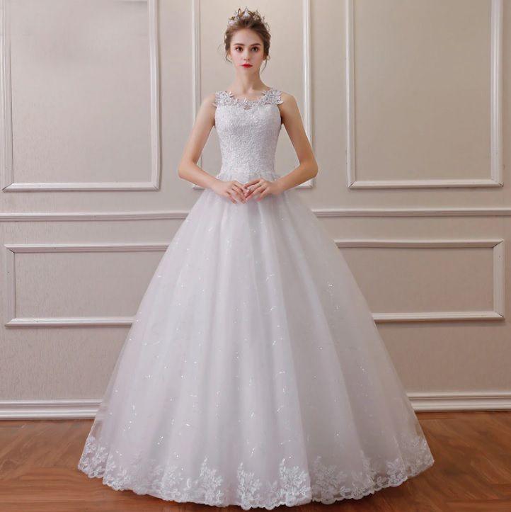 Vestido Noiva Debutante Princesa Alça Divino Barra Lindo Gg