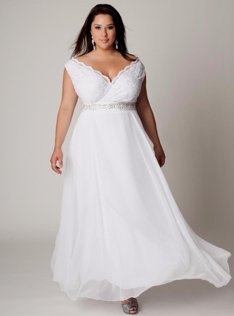 b743f3e4f8 vestido noiva decote princesa boho plus size renda faixa. Carregando zoom.