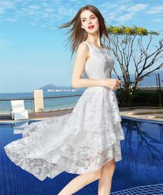4a75cb3da Vestido De Cetim Casamento Civil - Vestidos no Mercado Livre Brasil