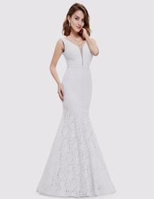 f57d0a6f3 Vestido De Noiva Sereia Com Renda Guipir E Tule - Calçados, Roupas e ...