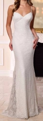 vestido noiva simples festa casamento decote costas vrl524