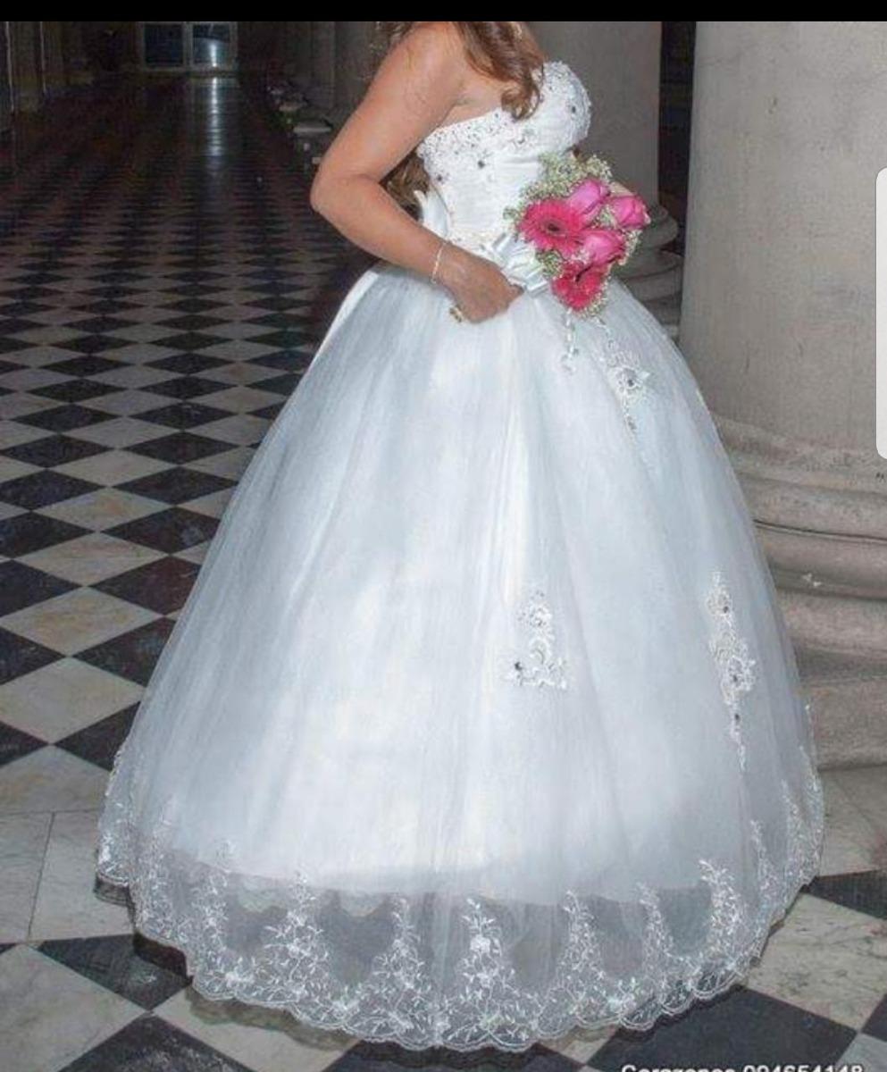 Vestido Novia / 15 Añera - $ 3.700,00 en Mercado Libre