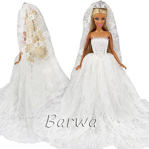 Vestido novia blanco y rosa