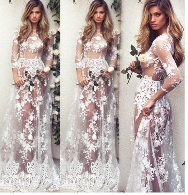 Fotos de vestidos de novia casuales