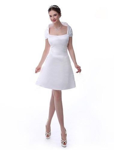 Oferta Vestido De Novia Corto Boda Civil Con Envio Gratis - $ 950.00 ...