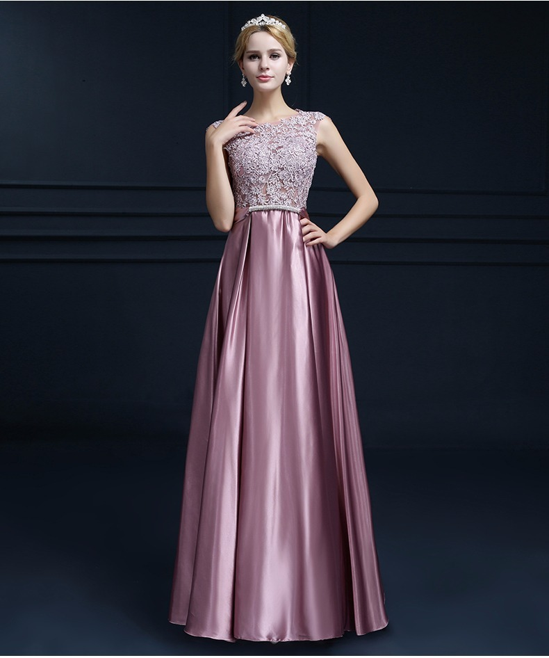 Vestido Novia Dama De Honor Color Champagne Talla 6 Ns 02 ...