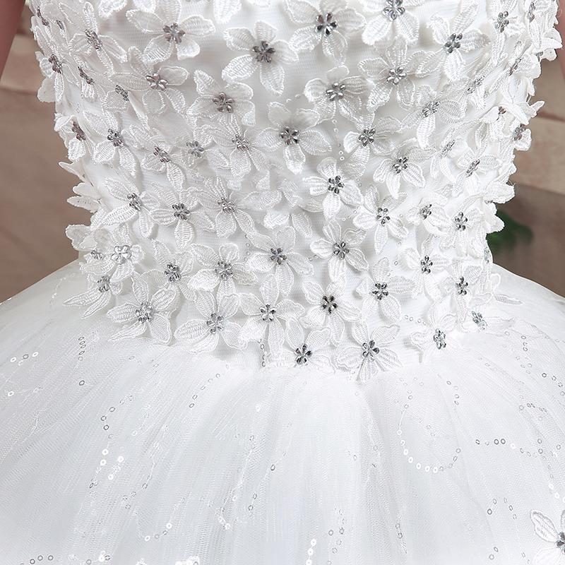 Como poner pedreria en vestidos de novia