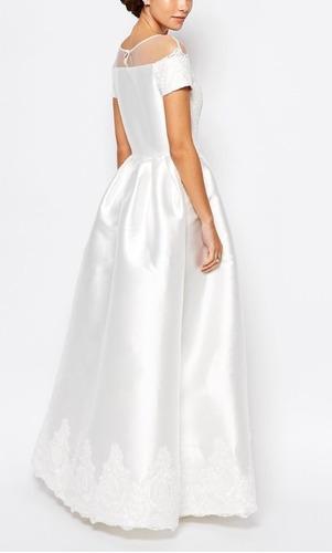vestido novia elegante nuevo talla 42 precio oferta 100 mil
